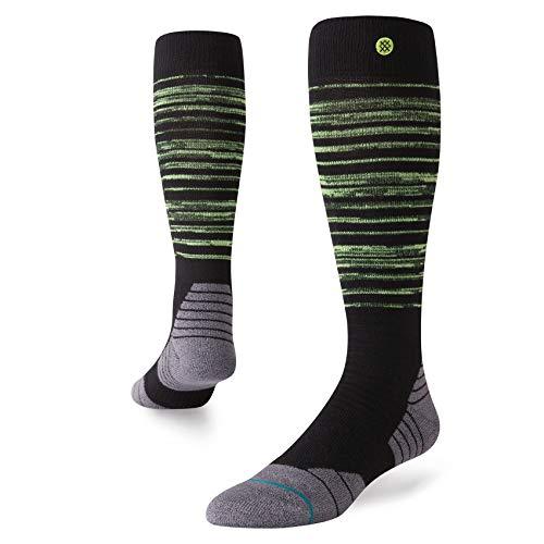 Stance Mens All Mountain Atlas Socks (Black, Large)