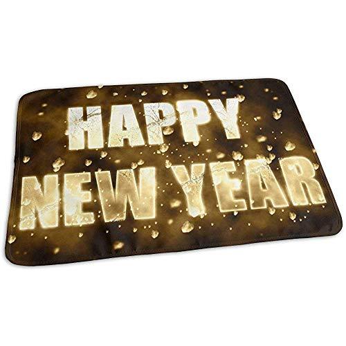 Matelas À Langer,Gold Happy New Year Funny Pads D'Urine De Bébé Élégant Pour Garçons Et Filles 65x80 cm