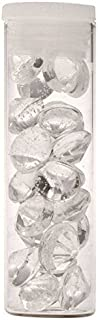 Crystal Candy Edible Diamonds - Clear 13 mm