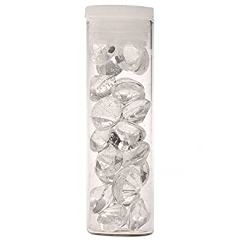 Crystal Candy Edible Diamonds - Clear 6 mm