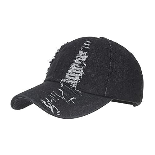 Ruibuy Berretto da Baseball Regolabile Lavabile Unisex Sport Jeans Hat