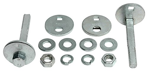 ACDelco Professional 45K18011 Front Caster/Camber Cam Kit with Bolts, Washers, Nuts, and Eccentrics