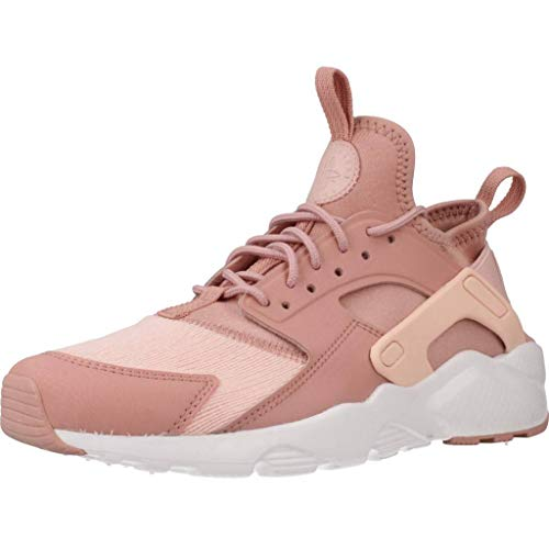 Nike Air Huarache Run Ultra Se (GS), Scarpe Running Donna, Multicolore (Rust Storm Pink/White 600), 38 EU