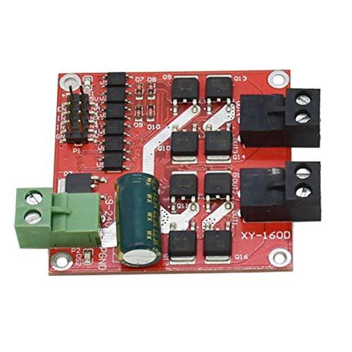 Sylvialuca 7A 160W Dual DC Motor Drive Module Industrial Grade Positive Negative PWM Speed L298 Logic XY-160D