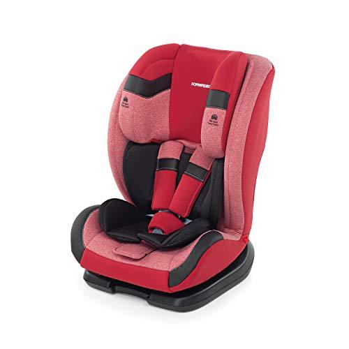 Foppapedretti Re-Klino Seggiolino Auto Gruppo 1/2/3 (9-36KG), per Bambini da 3 Fino a 12 Anni, Cherry
