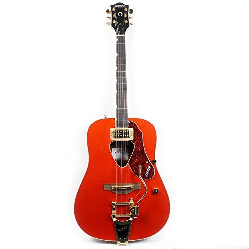 Gretsch Guitars G5034TFT Rancher Dreadnought Acoustic Guitar Savannah Sunset
