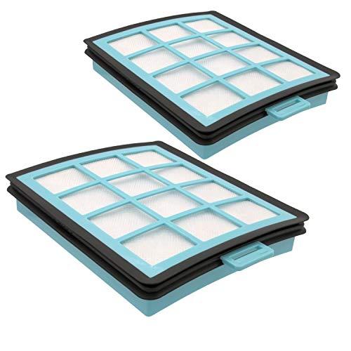 DeClean 2 x Motorschutz Filter Motorfilter Ersatzteil für Philips CRP745/01, PowerPro FC8760/01, FC8769/01/19 /91