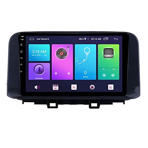 Nav Android 9.0 Car Stereo Double DIN para Hyundai Encino Kona 2018-2019 Navegación GPS Unidad Principal de 10 Pulgadas Reproductor Multimedia MP5 Receptor de Video y Radio con 4G WiFi DSP Carplay
