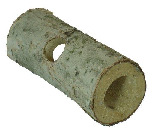 Elmato 10467 Nagerröhre Birke 16 cm, Loch 30 mm