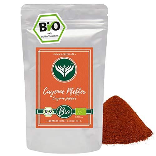 Azafran BIO Cayennepfeffer - Cayenne Chili als Pulver gemahlen 250g