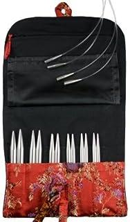 HiyaHiya Interchangeable Steel Knitting Needle Set, Large Size 4 Inch Tips