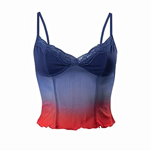 Werstand Y2K Nueva Malla DE Color DE Color DE Principio PEQUEÑO Sling VCELCO VESTURA Slim Well-Liked