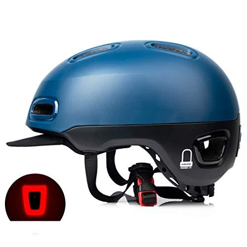 No Brand Sport Fietshelm Equilight Scooter Helm en Vrouwen Electric Car Batterij Urbano Pendanolarisme Helm Heren Zuidaïijnen