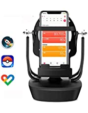 回転スイング Ankolaバランスボール 振り子 スマートフォン スイング 回転 歩数を増やす スピード調節 稼ぐ スマホスタンド 永久運動 携帯電話自動スイング USB給電 振り子教育玩具 ポケモンゴー Pokemon GO & walkr Google Fit すぐれた品 (2019最新版)
