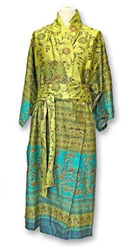 Bassetti MONTEFANO Kimono, katoen, groen, S-M