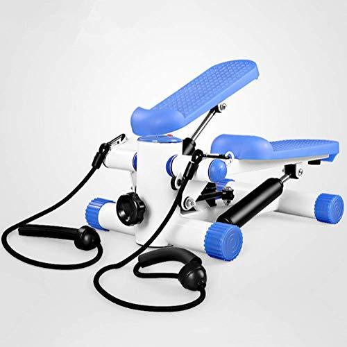 WYJW Crosstrainer onder kantoor, stap, compact, onder het bureau, met anti-slip pedaal en weerstandsbanden, verstelbare weerstand, voor training thuis en op kantoor
