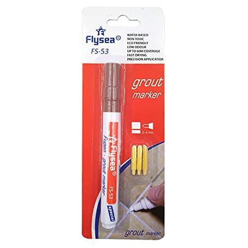 Freljorder 5ML Impermeable Tilen Pluma Relleno de Juntas Marcador de reparación Marcador de Relleno de Juntas Penfea, FNAM545