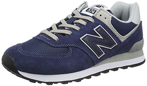 New Balance 574v2 Core', Sneaker Uomo, Sintetico, Blu (Navy), 43 EU