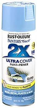Rust-Oleum 249093 Painter s Touch Multi Purpose Spray Paint 12-Ounce Spa Blue - 6 Pack