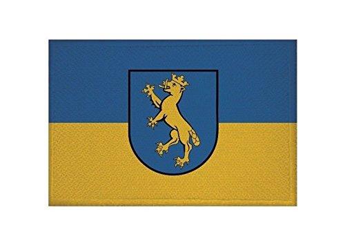 U24 Aufnäher Biberach an der Riß Fahne Flagge Aufbügler Patch 9 x 6 cm