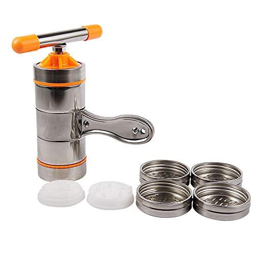 Manual Noodle Maker roestvrijstalen keuken Pasta Spaghetti Press Platen Machine Groente Fruit Juicer Press Machine
