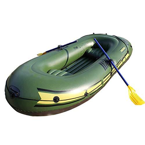 Kayak Inflable para 3 Personas con Pala,Bote Auxiliar para Canoa con Bomba,Se...