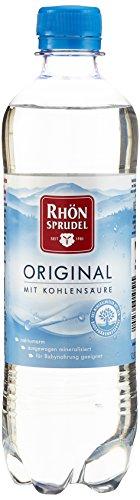 Rhönsprudel mit KohlensäureMineralwasser, 6er Pack, EINWEG (6 x 500 ml)