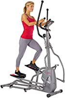 Sunny Health & Fitness Unisex Adult Sf-E3810 Magnetic Elliptical Trainer - Silver, One Size