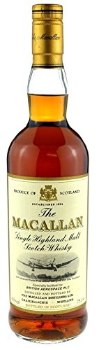 Rareza: Macallan Whisky British Aerospace PLC 0.7l - 12 años Sherry Wood - The Macallan Single Highland Malt Scotch Whisky
