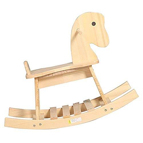 YUEZPKF Schön Schaukelstuhl Kinder Rocking Horse Holz Pferd Baby Geschenk Baby Schaukelstuhl Spielzeug Holz 13 Jahre alt Spielzeug, 40kg
