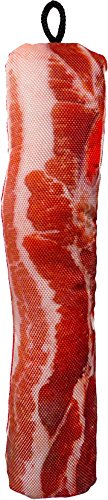 SCOOCHIE PET PRODUCTS 535 Barbara's Bacon Dog Toy, 13'