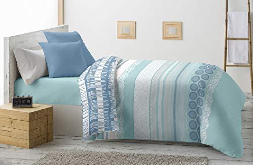 Energy Colors Textil - Hogar - Grecia - Relleno Nórdico 350 gr Reversible...