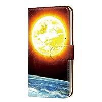 Galaxy S8 (SC-02J・SCV36) 対応 スマホケース 手帳型 カードタイプ [宇宙柄・カラフル] きらきら 銀河 SAMSUNG サムスン ギャラクシー エスエイト docomo au スマホカバー 携帯ケース スタンド [FFANY] space 00k_115@04c