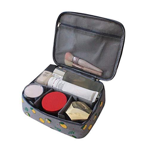 Qingb Frauen Kosmetische Make-Up Veranstalter Taschen Hautpflege Lagerung Juwel Reißverschlusstasche Beutel Box Fall Home Bad Organisation zubehör, B7