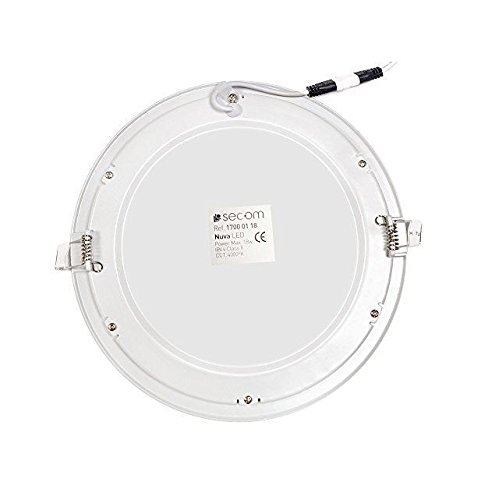 Secom 1700011884 Nuva Eco - Downlight LED (18 W, 240 V, 4000 K)