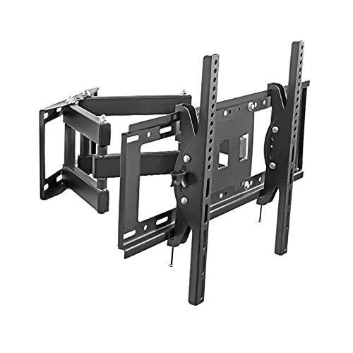 Montado en la pared universal de seis brazos TELEVISOR Soporte completo movimiento giratorio extensión inclinación TELEVISOR Monte, se adapta a la mayoría de los televisores planos de 40 '-75' con máx