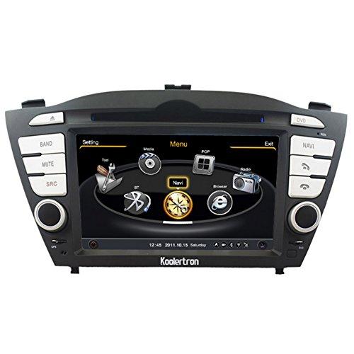 Koolertron Neu Multimedia Navigationssystem Auto-Dvd-Spieler-Navigationssystem Auto Gps Navigation Mit 7 Zoll Tft Lcd-Touchscreen (Auflösung 800 * 480) Mit 3 Zone Pop 3G / Wif