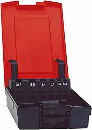 Kunststoffkassette leer 6,3-25,0mm FORMAT