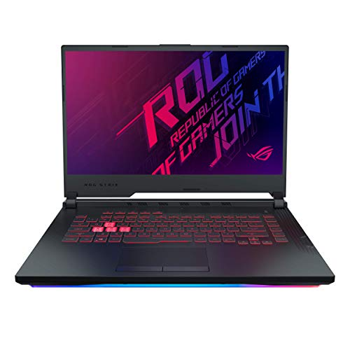 ASUS ROG Strix G G531GD-BQ026T 15.6' FHD Gaming Laptop GTX 1050 4GB Graphics (Core i5-9300H 9th Gen/8GB RAM/512GB NVMe SSD/Windows 10/One-Zone RGB KB/2.40 Kg), Black
