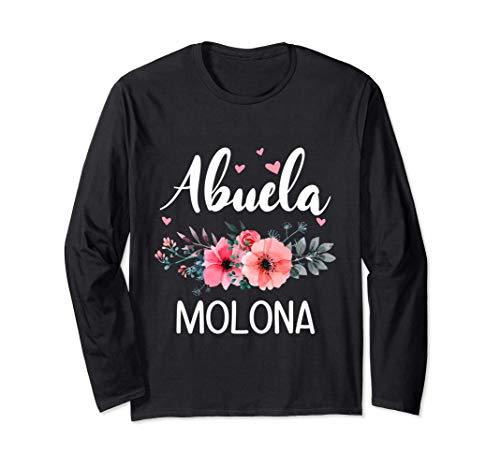 Abuela Molona, Regalo Original Para Abuelas Manga Larga