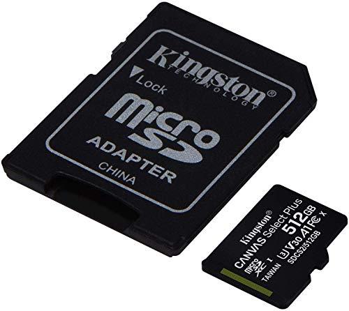 Kingston 512GB Canon VIXIA HF W10 MicroSDXC Canvas...