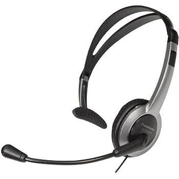Panasonic KX-TCA430 Comfort-Fit Foldable Headset  Renewed