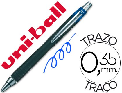 Uni-Ball - Boligrafo jetstram sxn-210 retractil color azul (12 unidades)
