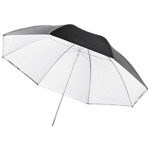 Walimex Pro Parapluie réflecteur/translucide 2-en-1 blanc, 109cm