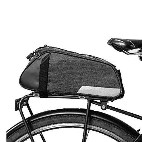 Asiento de la bicicleta Packs La bicicleta del montar bolso se puede utilizar como una bolsa en el pecho, y es un multiusos bolsa.Ya se trate de montar a caballo o de viaje, que es el mejor artículo i