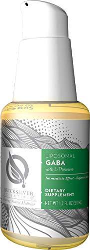 Quicksilver Scientific, Liposomal GABA with L-Theanine, 50ml