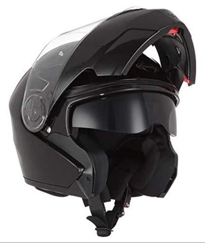 Stormer, motorrad helm Turn schwarz, XL