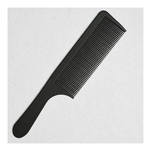 ZZYUBB Friseursalon Cricket Ultradünnes Flachkopf Kamm Medium Carbon-Kamm Haircut Bürste Anti Static Barber-Tool