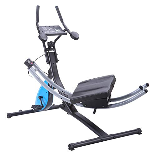 HE-XSHDTT 2 in 1 Bauchmuskeluntersetzer-Abdominal- Maschinen-Fitnessgerät, Übungs-Taillen-Bein, Turnhallen-Trainings-Ausgangsübung