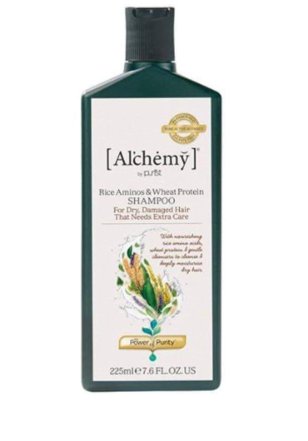 雄大なメールを書く交じる【Al'chemy(alchemy)】アルケミー ライス アミノス モイスチャーシャンプー(Rice Aminos-Intensive Moisture Shampoo)(ドライ髪用)225ml
